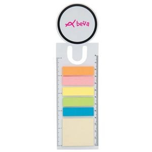 Circle Book Mark With 150 Sticky Notes